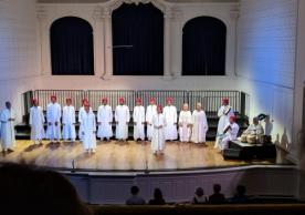 Muslim Choral Ensemble from Sri Lanka at Morse Recital Hall